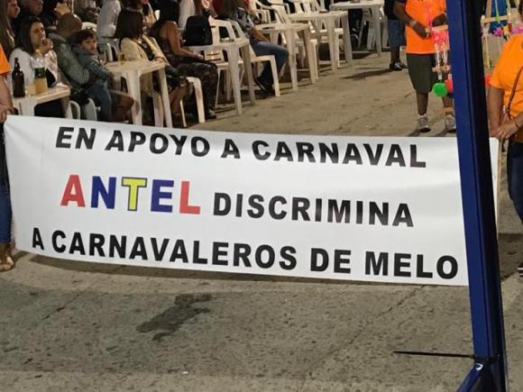 Pancarta del Carnaval de Melo
