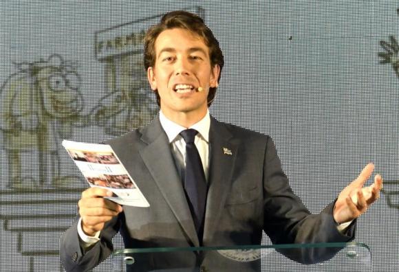 Juan Sartori, precandidato presidencial por el Partido Nacional. Foto: Gerardo Pérez