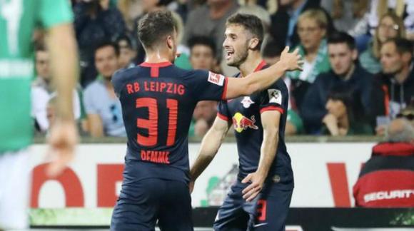 Marcelo Saracchi cerró la goleada del Leipzig sobre el Werder Bremen
