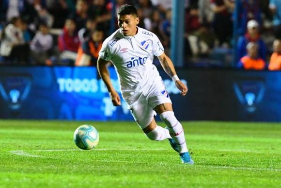 Brian Ocampo lleva dos goles en el año, el último para el triunfo contra Wanderers. FOTO: G. Pérez.