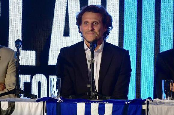Presentación de la despedida de Diego Forlán. FOTO: Gerardo Pérez.