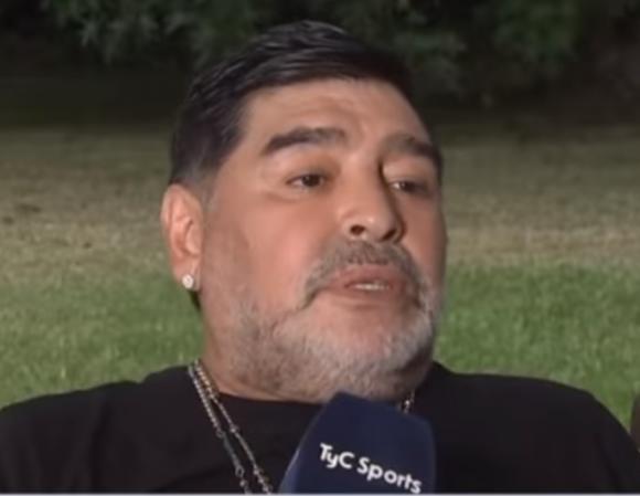 """Diego Maradona saldrá en """"Líbero vs"""". Foto: Captura."""