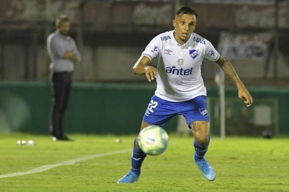 Mathías Suárez en Nacional