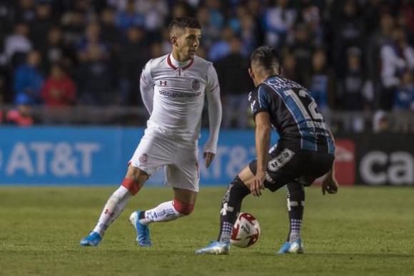 Leo Fernández en el juego entre Toluca y Queretaro. Foto: @TolucaFC