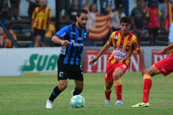 Hernán Figueredo en el Liverpool vs. Progreso