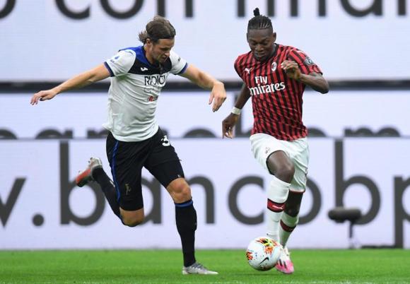 Atalanta y Milán empataron 1-1. FOTO: EFE.