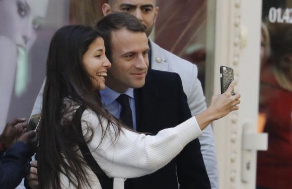 El domingo 14 Macron asumirá la presidencia de Francia. Foto: AFP