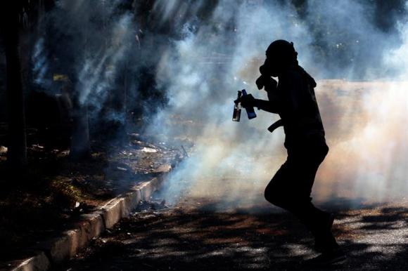 El número de muertos durante las manifestaciones aumentó a 104. Foto: EFE