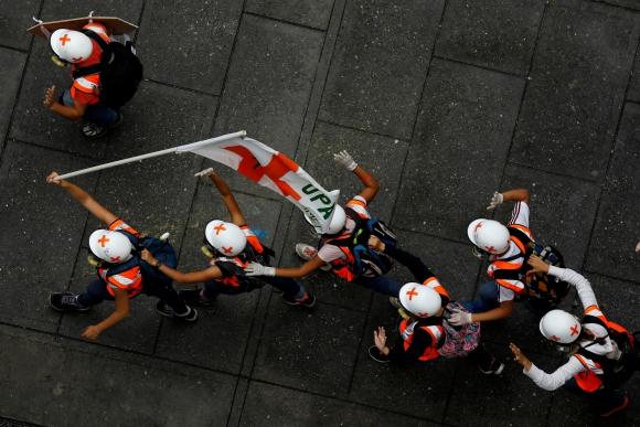 En poco más de dos meses de protestas ya se registraron 66 fallecidos. Foto: Reuters