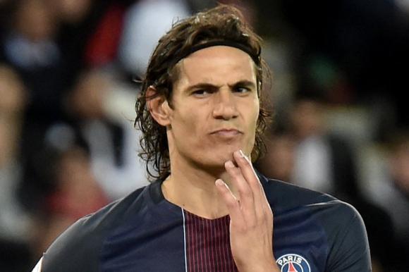 Con Cavani como titular, Paris Saint Germain igualó 1-1 ante Caen. Foto: AFP
