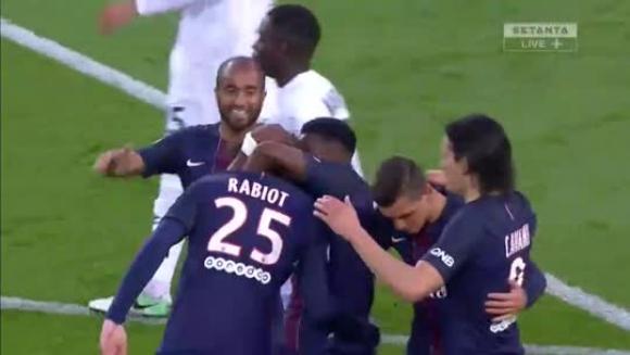 PSG 1-1 Caen - Ligue 1