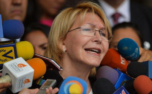 Luisa Ortega, fiscal venezolana. Foto: AFP