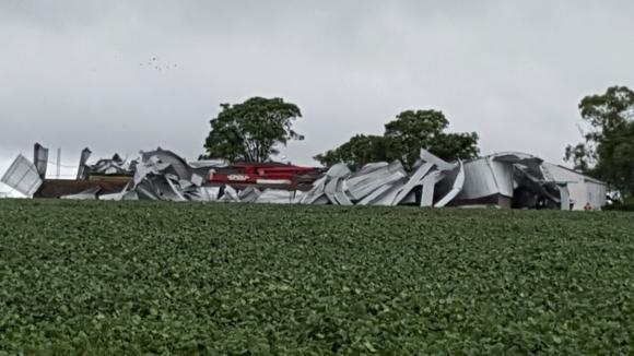 Destrozos en Río Negro. Foto: Daniel Rojas