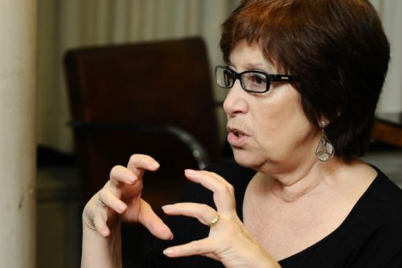 Marina Arismendi, ministra de Desarrollo Social. Foto: Darwin Borrelli.