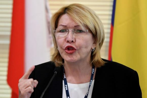 Luisa Ortega, exfiscal general de Venezuela. Foto: AFP.