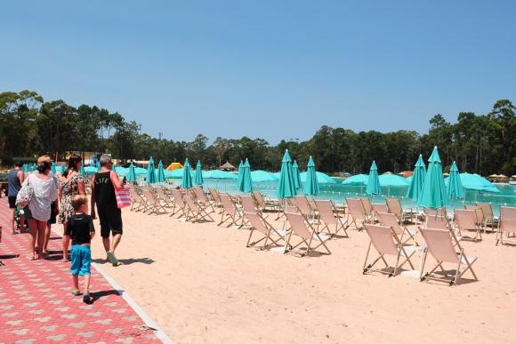 Playa artificial de Solanas. Foto: Ricardo Figueredo