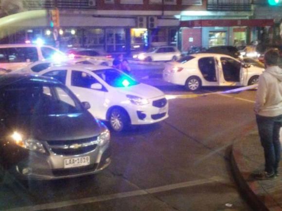 Se registró un gran despliegue policial y lograron capturar a los asaltantes. Foto: El País