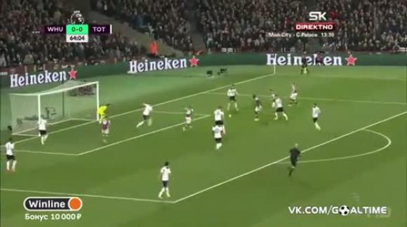West Ham 1-0 Tottenham - Premier League