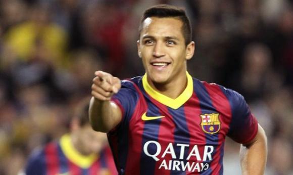 Alexis Sánchez admitió que defraudo a la Hacienda cuando jugaba en Barcelona. Foto: EFE