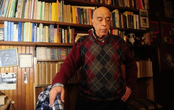 Amodio Pérez recibió a los medios tras el fallo del Tribunal. Foto. M. Bonjour