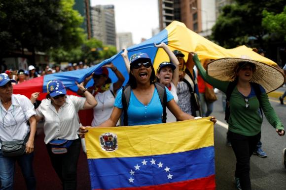 Venezuela marcha una vez más en contra del gobierno de Nicolás Maduro. Foto: Reuters