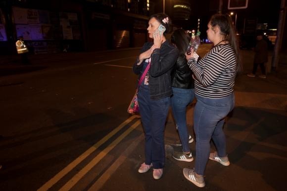 Explosión en Manchester. Foto:Reuters