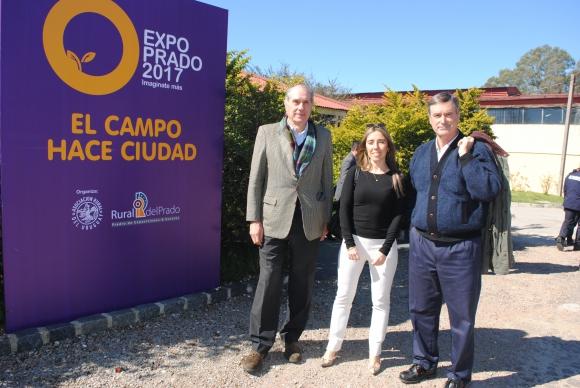 Diego Payssé, Andrea Martínez, Pablo Barreto.