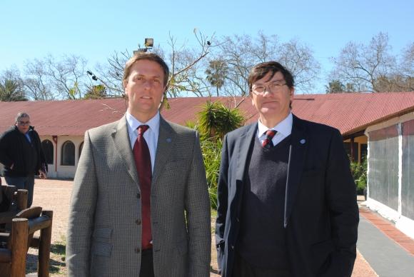 Ricardo Reily, Gerardo García Pintos.