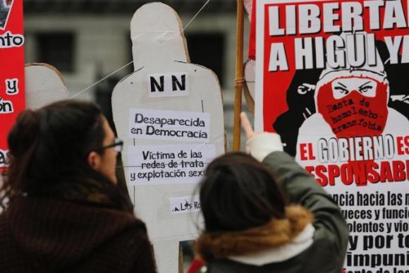 Ni una menos en Argentina. Foto: La Nación.