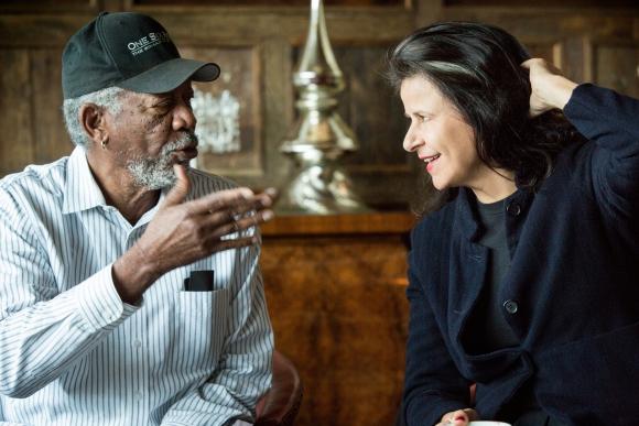 Morgan Freeman hizo de etruccio en <i>La fierecilla domada.</i>