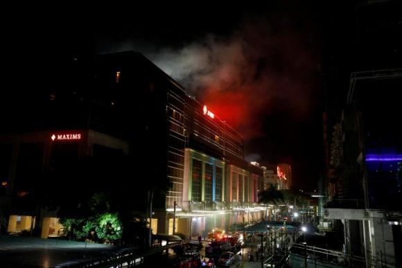 Ataque al casino de un hotel en Filipinas. Foto: Reuters.