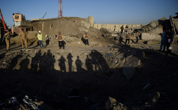 Atentado en Afganistán. Foto. AFP