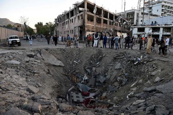Atentado en Afganistán. Foto: AFP