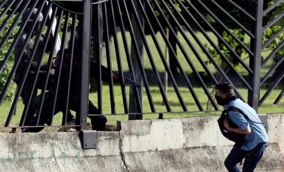 David José Vallenilla tenía 22 años y murió el jueves por un disparo. Foto: Reuters