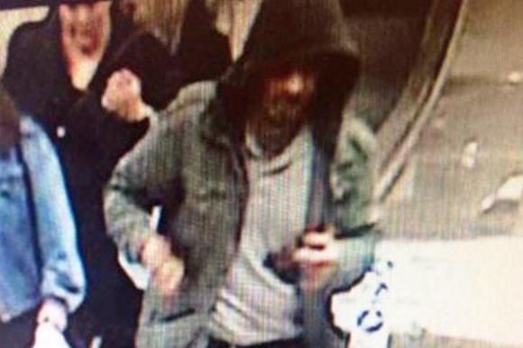 La Policía sueca difundió imágenes del sospechoso de perpetrar el atentado. Foto: Policía de Suecia.