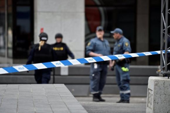 La zona fue acordonada por la Policía. Foto: Reuters.