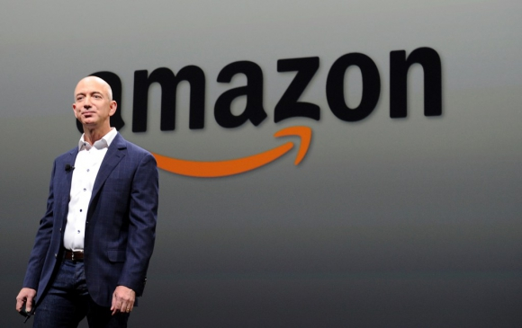 Jeff Bezos, CEO  y fundador de Amazon. Foto: AFP