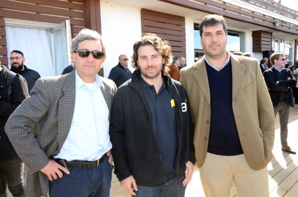 Arturo Navarro, Denis Guichón, Fermín Otegui.