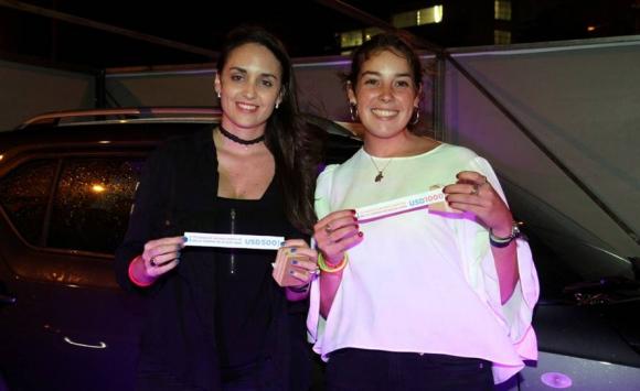 Cecilia Chiappe y Rocío Velazco, ganadoras.