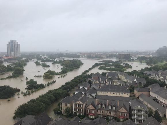 Texas fue golpeada por el huracán Harvey. Foto: Reuters