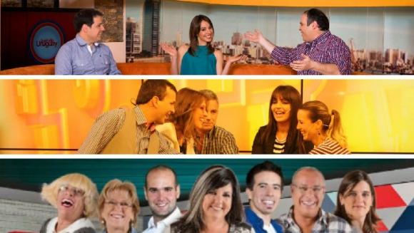 <b>MAGAZINE.</b><br>Buen día Uruguay (Monte Carlo)<br>Desayunos informales (Teledoce)<br>La mañana en casa (Canal 10)