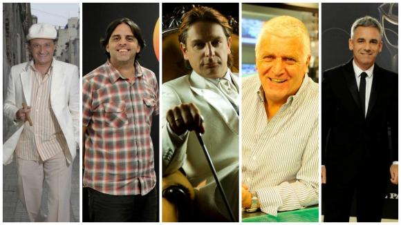 <b>CONDUCTOR DE TV. <br></b>Luis Alberto Carballo – Algo Contigo (Monte Carlo)<br>Jorge Piñeyrúa – Bendita Tv (Canal 10)<br>Jorge