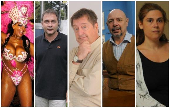 <b>PANELISTA</b>.<br>Yessy López - Pasión de Carnaval (VTV)<br>Marcelo Tejera - Fox Sports Radio (Fox Sports)<br>Fernando Invernizzi - Algo contigo (Monte Carlo)<br>José Mastandrea - Sin límite (VTV)<br>Eleonora Navatta - Esta boca es mía (Teledoce)