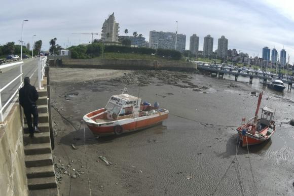 Bajante de la marea. Foto: Fernando Ponzetto