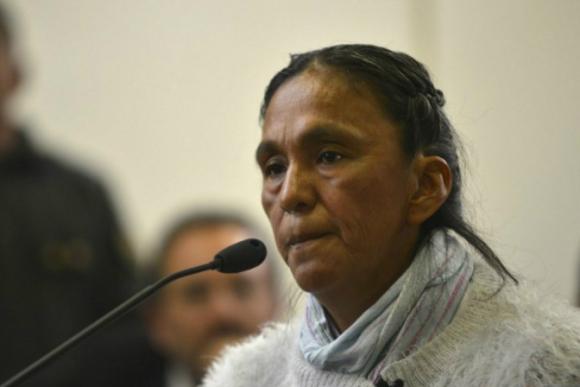 Milagro Sala. Foto: AFP.