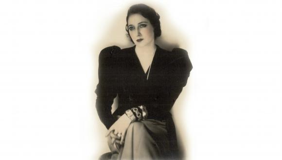 Juana de Ibarbourou. Foto: Archivo El País