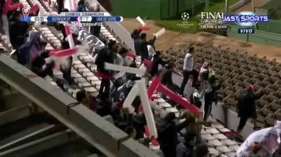 Defensor Sporting vs Liga de Quito 1-2 GOLES Copa Sudamericana 30052017
