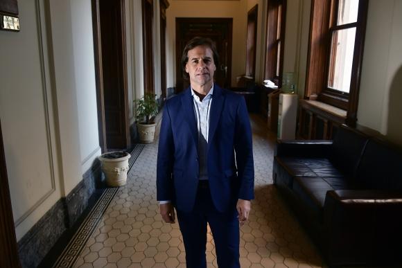 Luis Lacalle Pou. Foto: Fernando Ponzetto