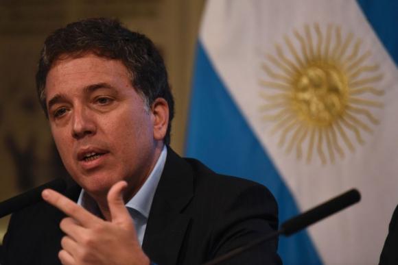 Ministro Nicolás Dujovne. Foto: AFP
