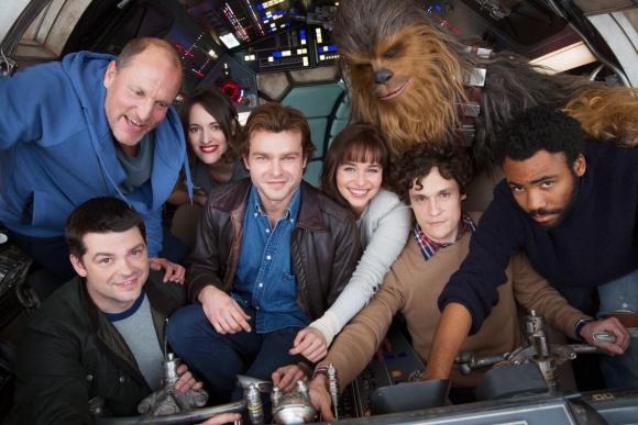 La nueva película de Han Solo. Foto: @StarWars